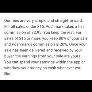 Posh fees